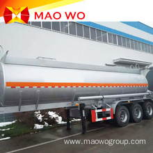 Best Quality 43CBM Aluminum Oil Tanker Trailers